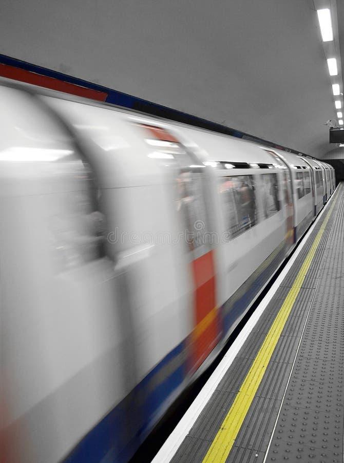 Ondergrondse Trein royalty-vrije stock foto
