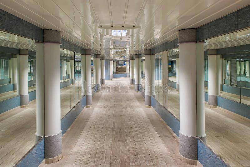 Ondergrondse voetpassage in Monte Carlo stock fotografie