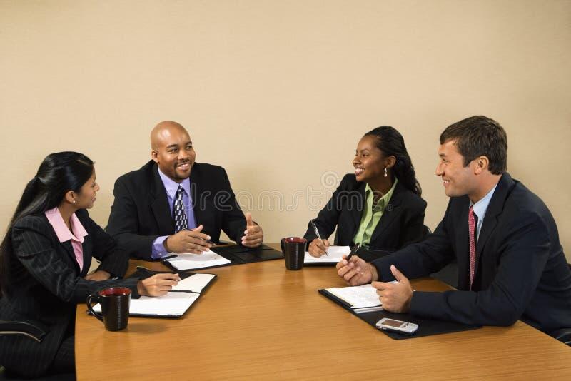 Onderneemsters en zakenlieden. royalty-vrije stock foto