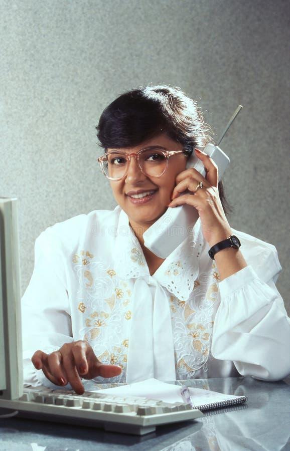 Ondernemer van de jaren '90 India stock foto