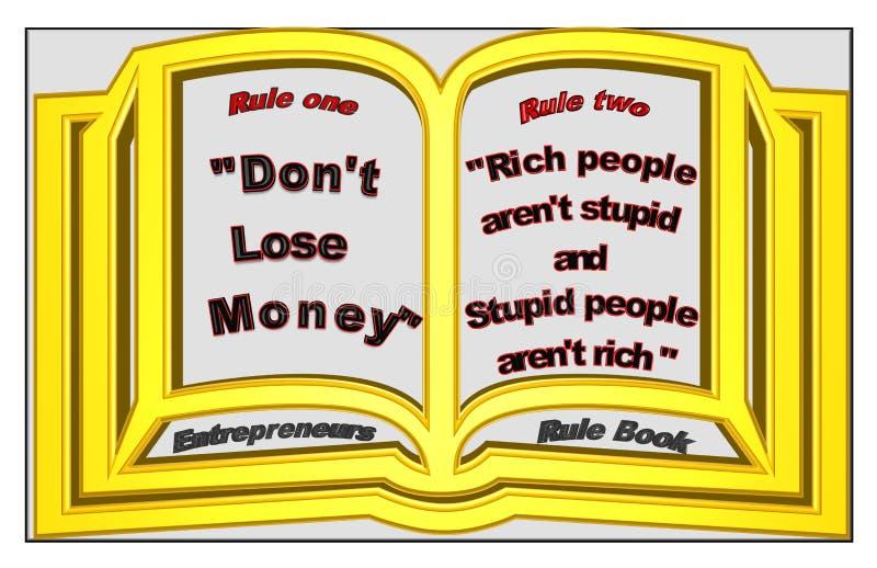 Ondernemersreglement royalty-vrije illustratie