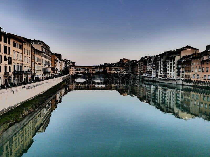Ondersteboven van Florence stock foto's