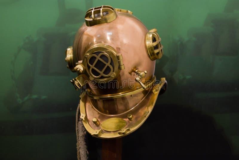 Onderwater helm stock afbeelding