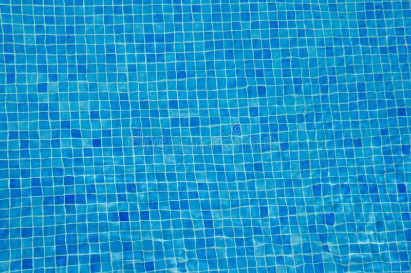Onderwaterachtergrond van de Aqua de blauwe tegel royalty-vrije stock foto