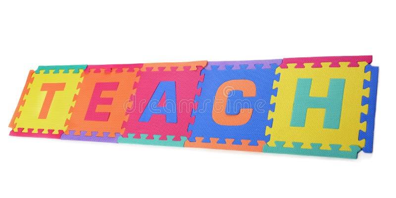Onderwijs! stock afbeelding