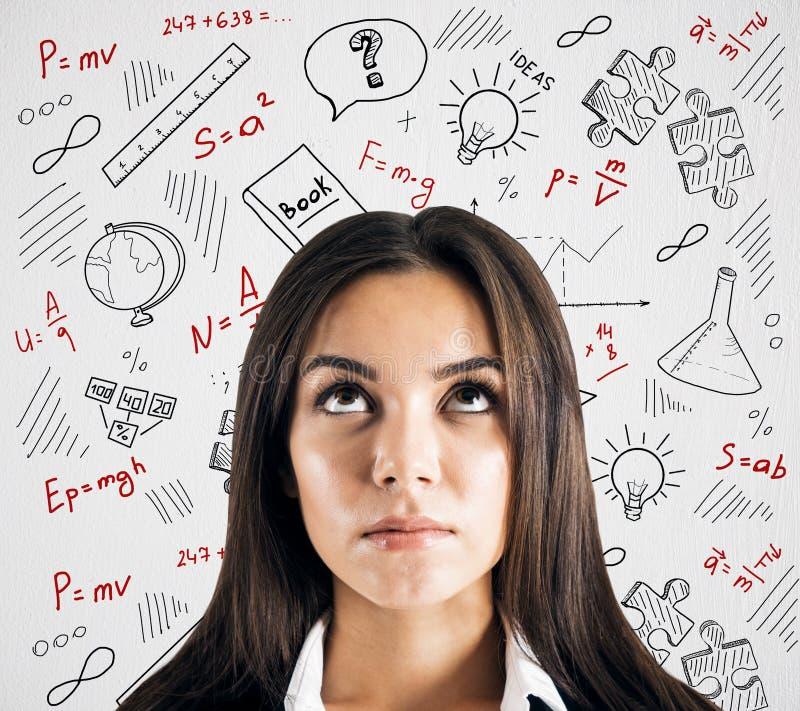 Onderwijs en wetenschapsconcept stock afbeelding