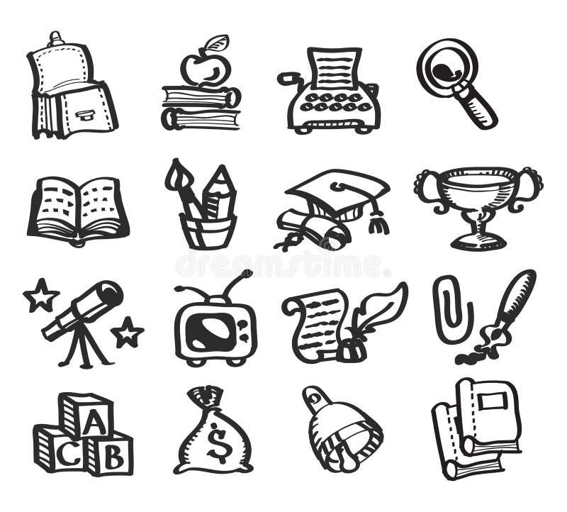 Onderwijs. Vectorillustratie stock illustratie