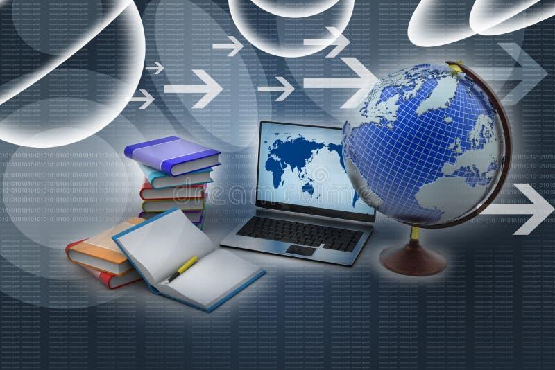 Onderwijsconcept royalty-vrije illustratie