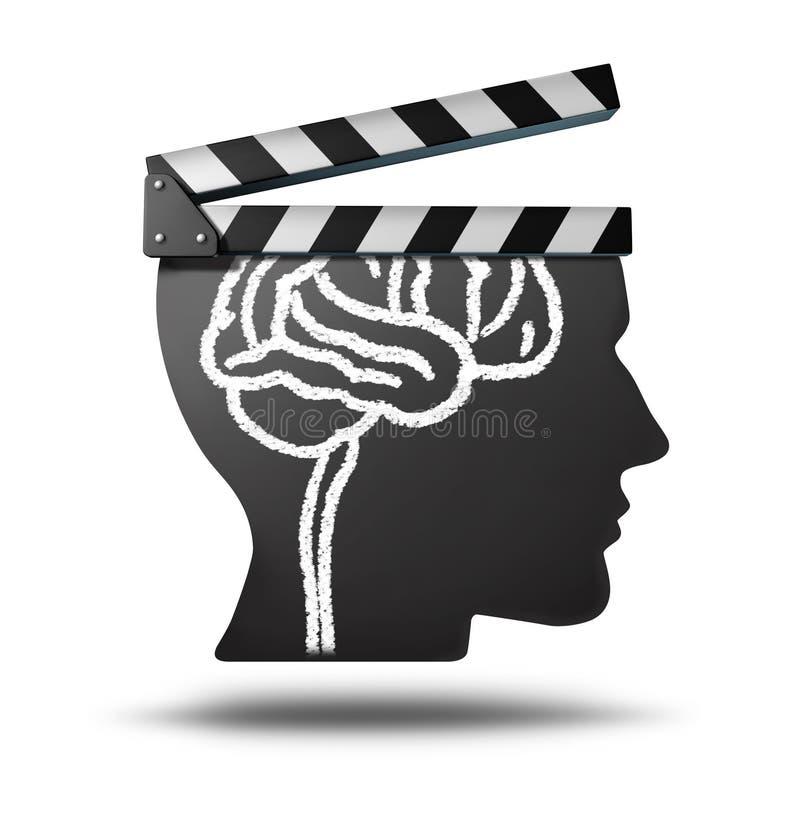Onderwijsvideo's stock illustratie
