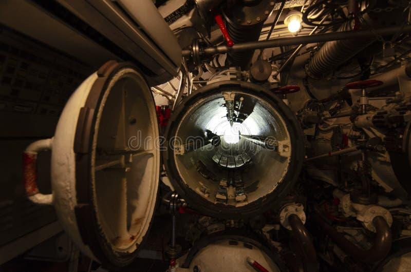 Onderzees binnenland royalty-vrije stock foto