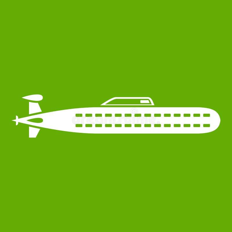 Download Onderzees groen pictogram vector illustratie. Illustratie bestaande uit marine - 107707669