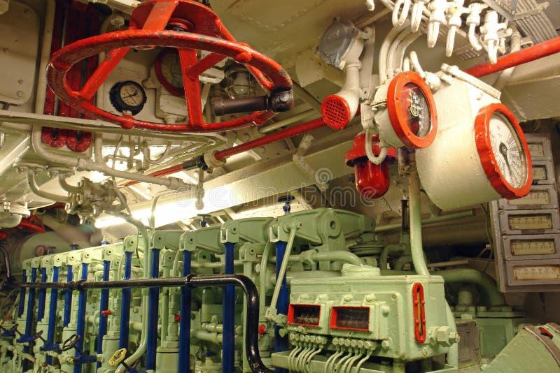 Onderzeese Motor royalty-vrije stock fotografie