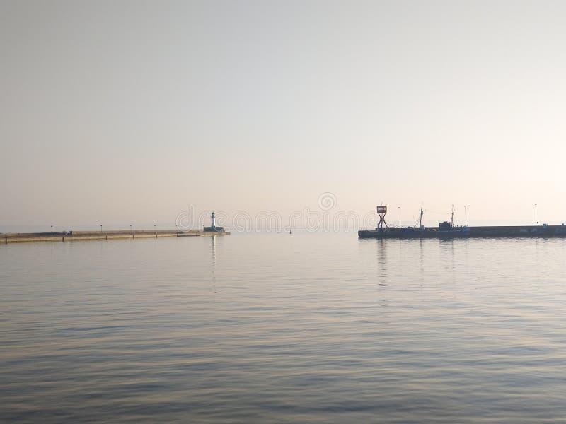 Onderzoek de baai van Sassnitz royalty-vrije stock afbeelding