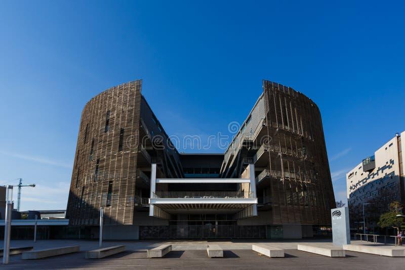 Onderzoekpark van het van Barcelona het Biomedische stock afbeelding