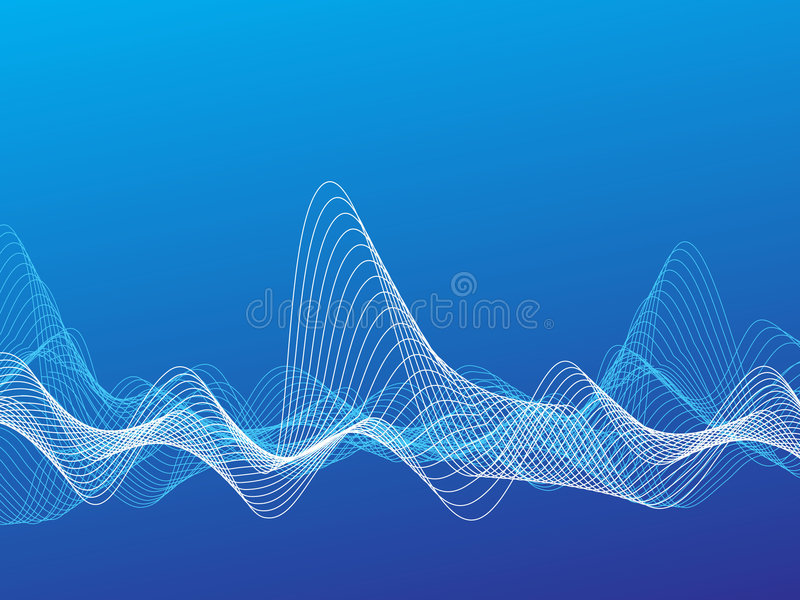 Ondes illustration stock