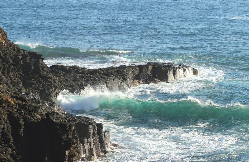 Ondes d'océan images libres de droits