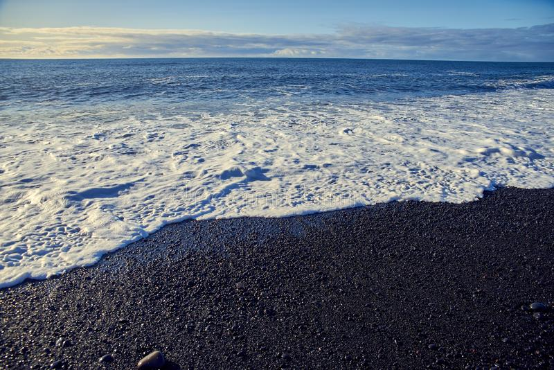 Ondes de l'Océan Atlantique image libre de droits