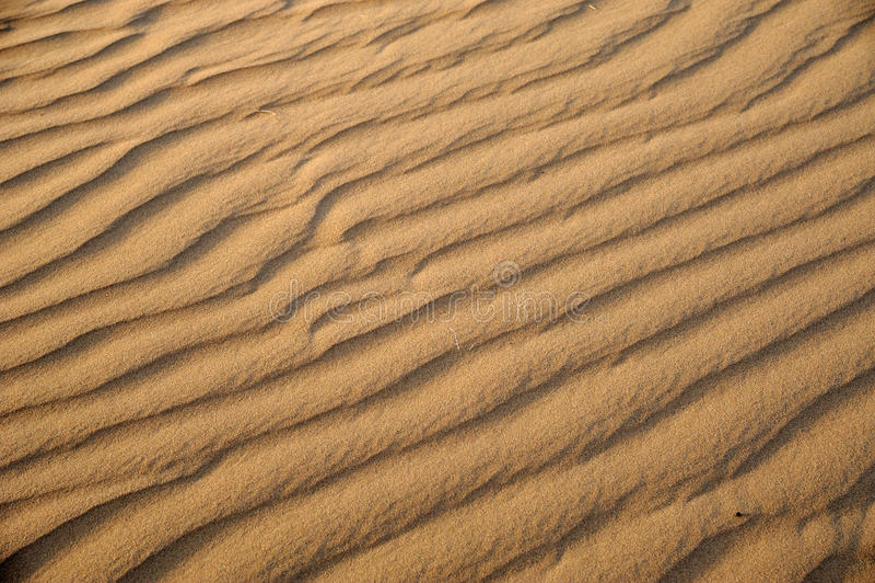 Ondes de sable photo libre de droits