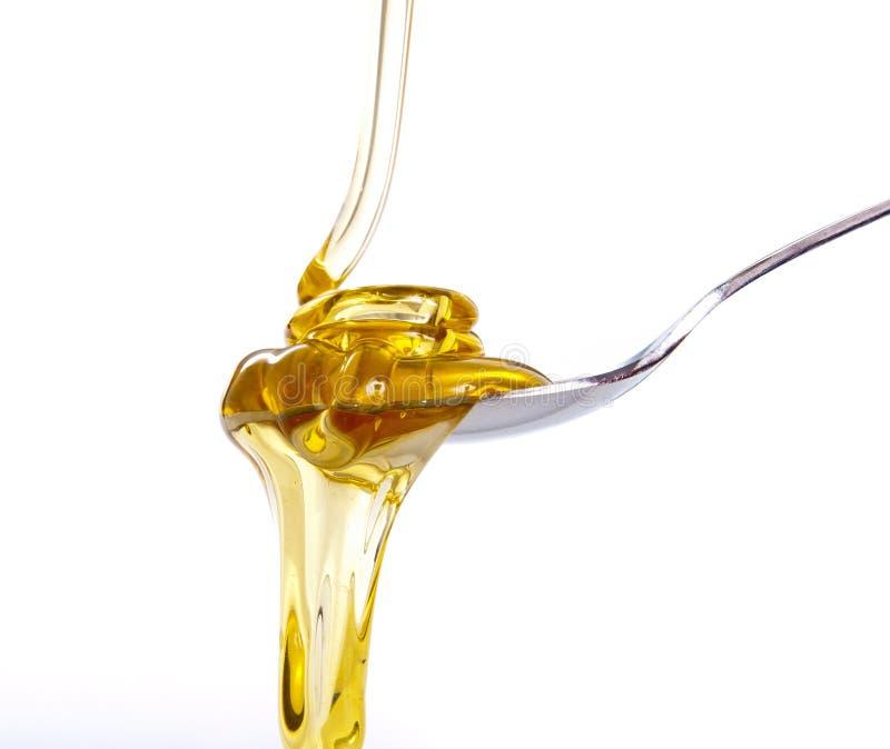 Ondes pleuvantes à torrents de miel images stock