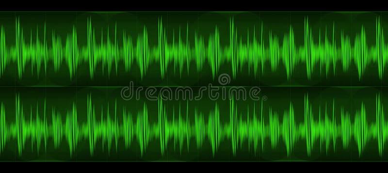 Ondes sonores illustration libre de droits
