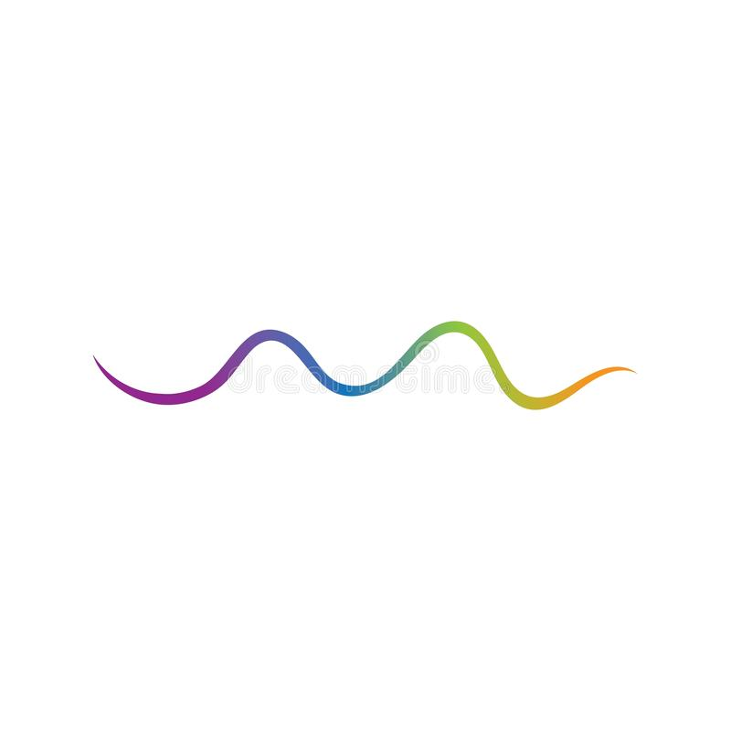 ondes sonores d'illustration graphique d'affichage illustration stock