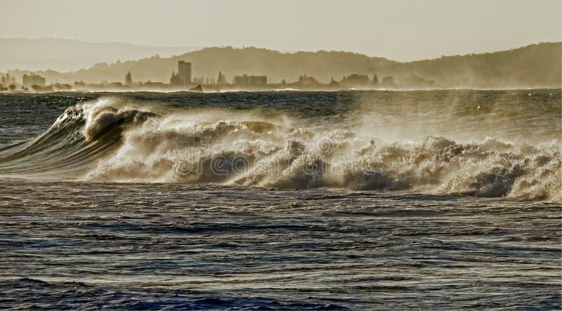 Ondes turbulentes photos stock