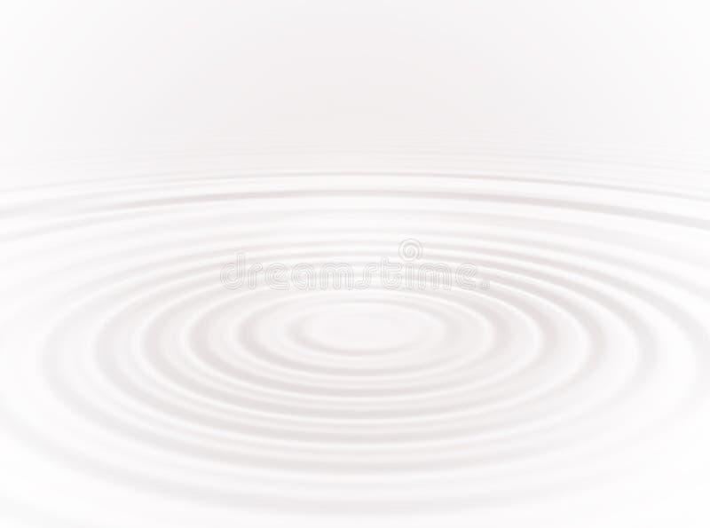 Ondinha branca ilustração do vetor