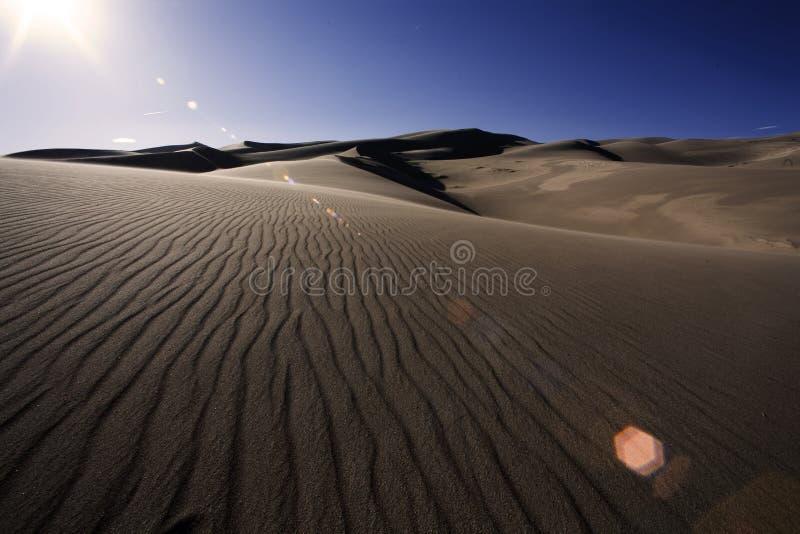 Ondinhas da duna imagem de stock