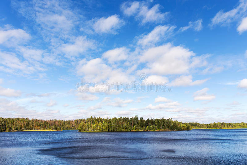 Ondinhas do vento na água foto de stock royalty free