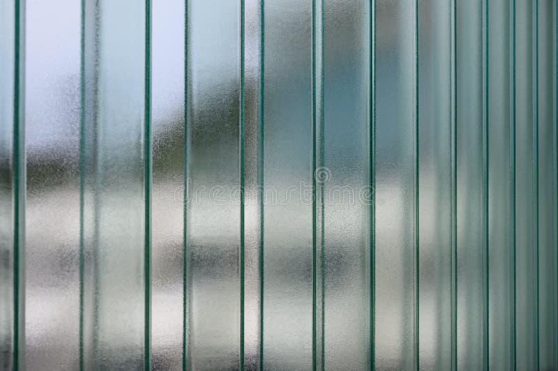 Ondoorzichtig gestapeld glazen vensterblad royalty-vrije stock afbeeldingen
