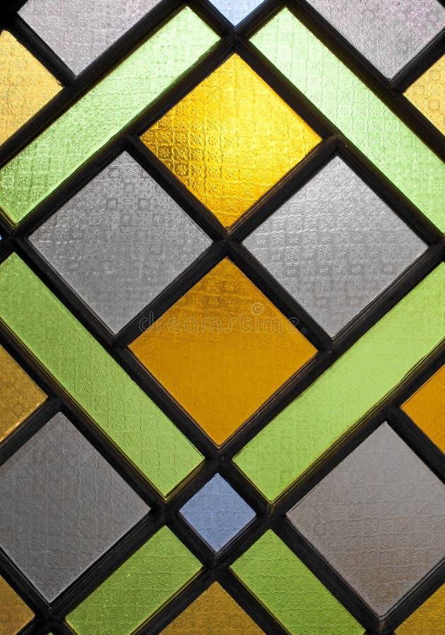 Ondoorzichtig glas. stock afbeeldingen
