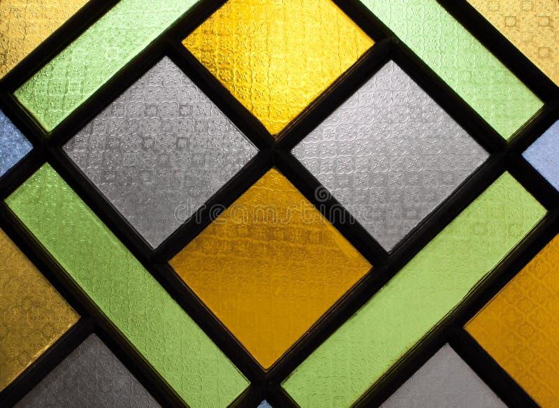 Ondoorzichtig glas. royalty-vrije stock afbeelding