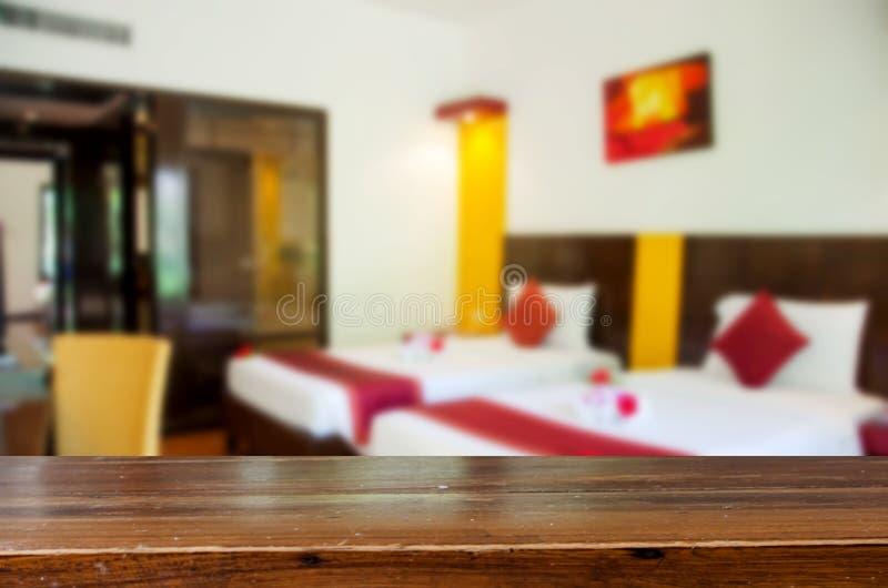 Onduidelijk beeld mooie slaapkamer royalty-vrije stock afbeelding