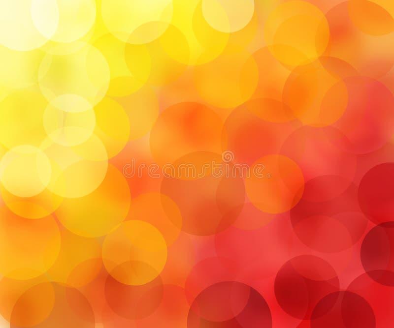 Onduidelijk beeld in warme kleuren royalty-vrije stock fotografie
