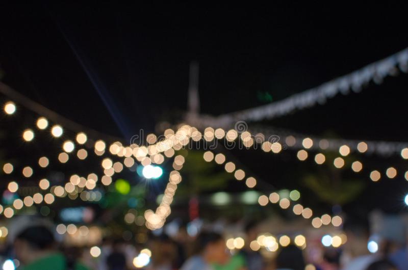Onduidelijk beeldfestival stock foto's