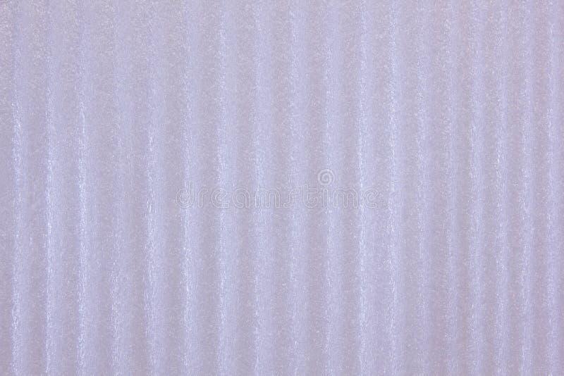 Ondulé sous forme de surface de polyuréthane de vagues de couleur froide blanche de glace photo stock