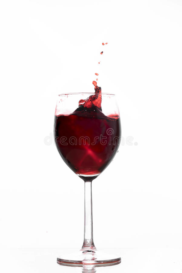 Ondulação do vinho fotografia de stock