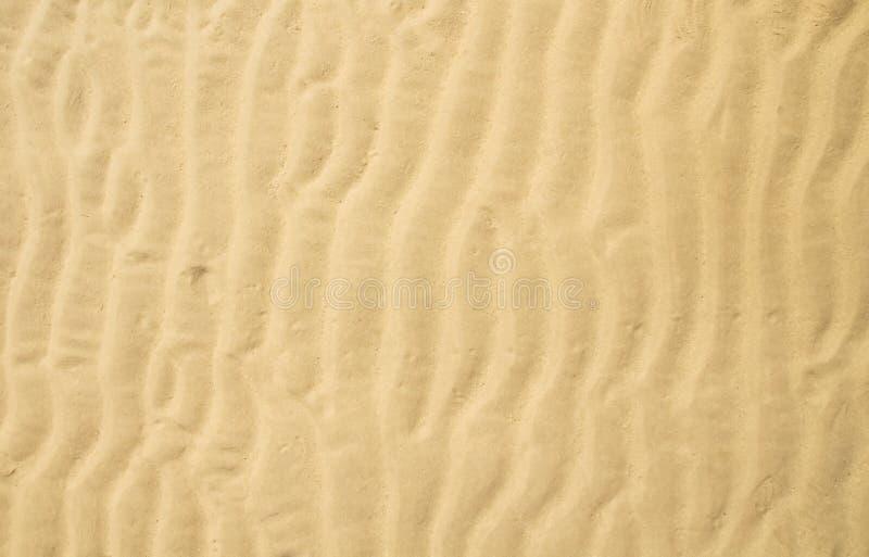 Ondulación de la arena foto de archivo