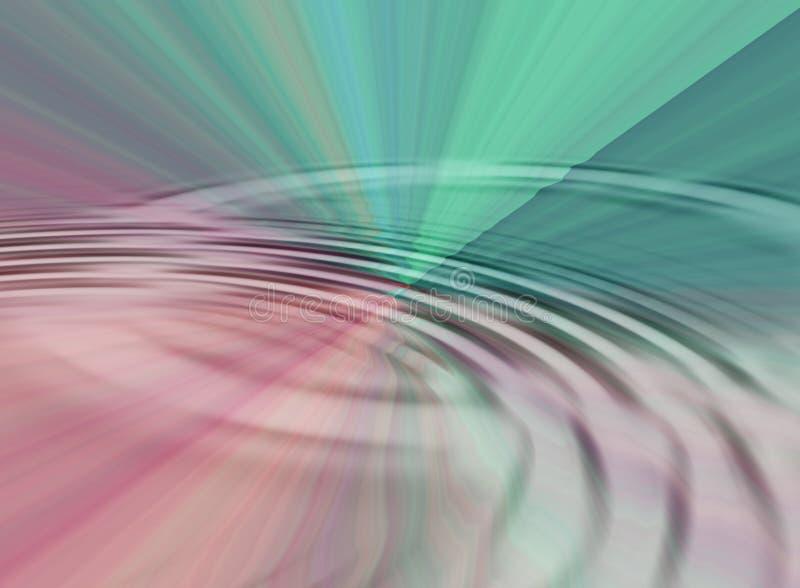 Ondulación del agua de la prisma libre illustration