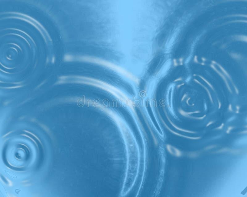 Ondulaciones del agua libre illustration