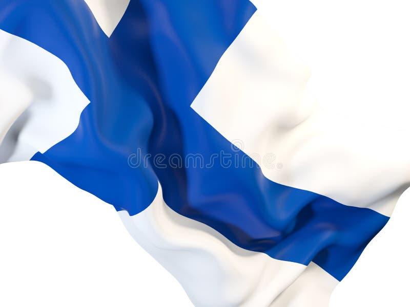 ondulation d'indicateur de la Finlande illustration libre de droits
