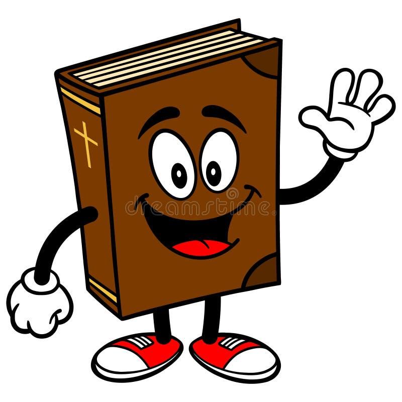 Ondulation de mascotte d'école de bible illustration libre de droits