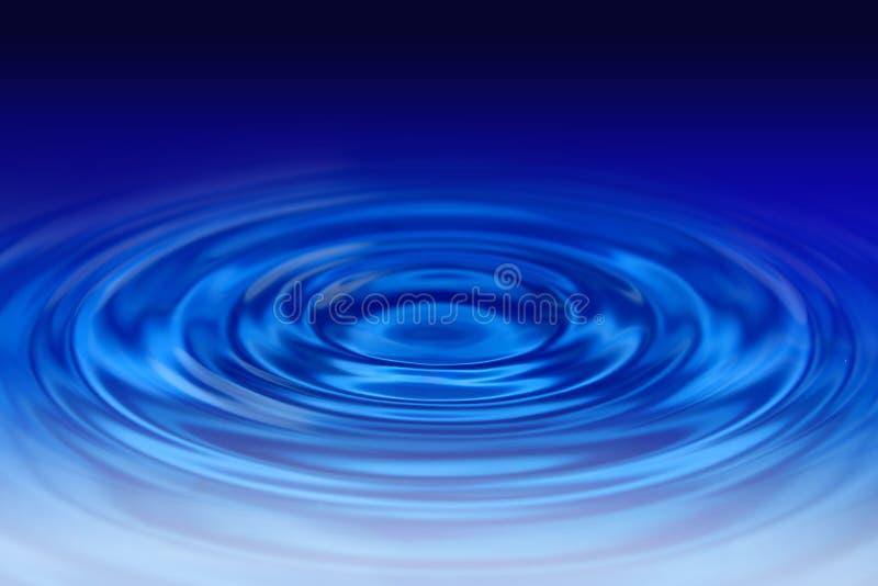 Ondulations de l'eau illustration de vecteur