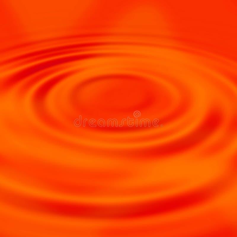 Ondulations liquides rouges illustration libre de droits