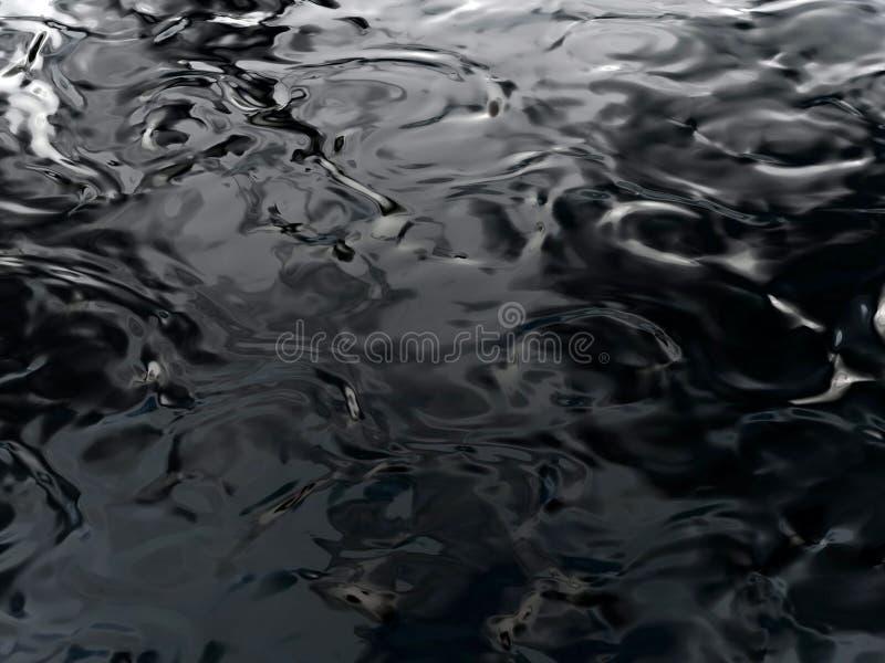 Ondulazioni dell'acqua fotografia stock