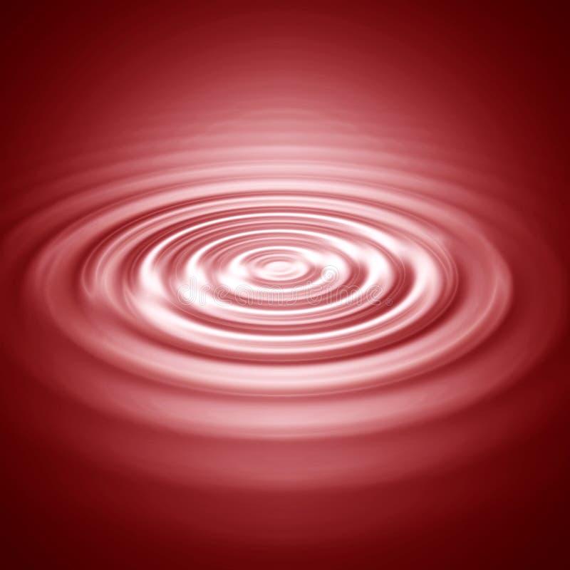 Ondulazioni dell'onda illustrazione vettoriale