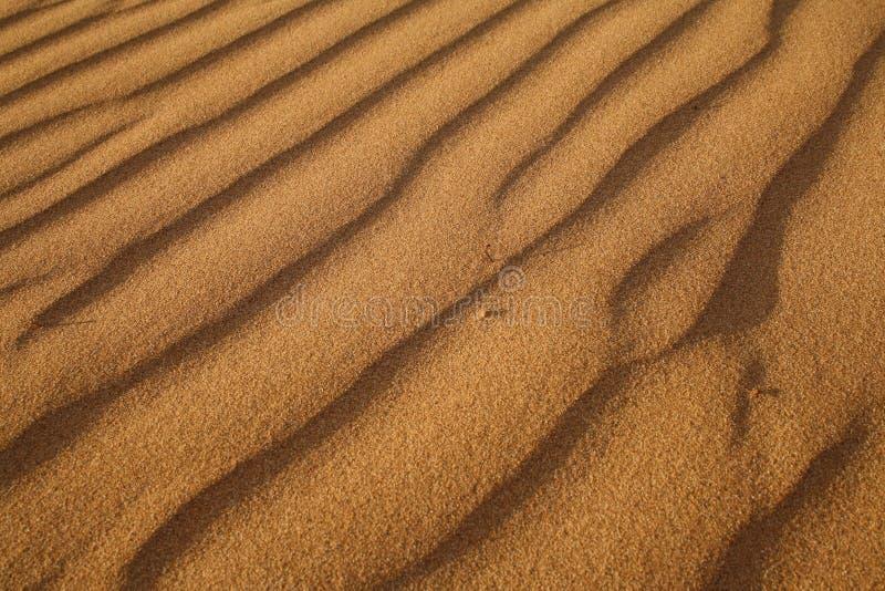 Ondulazioni della sabbia fotografie stock libere da diritti