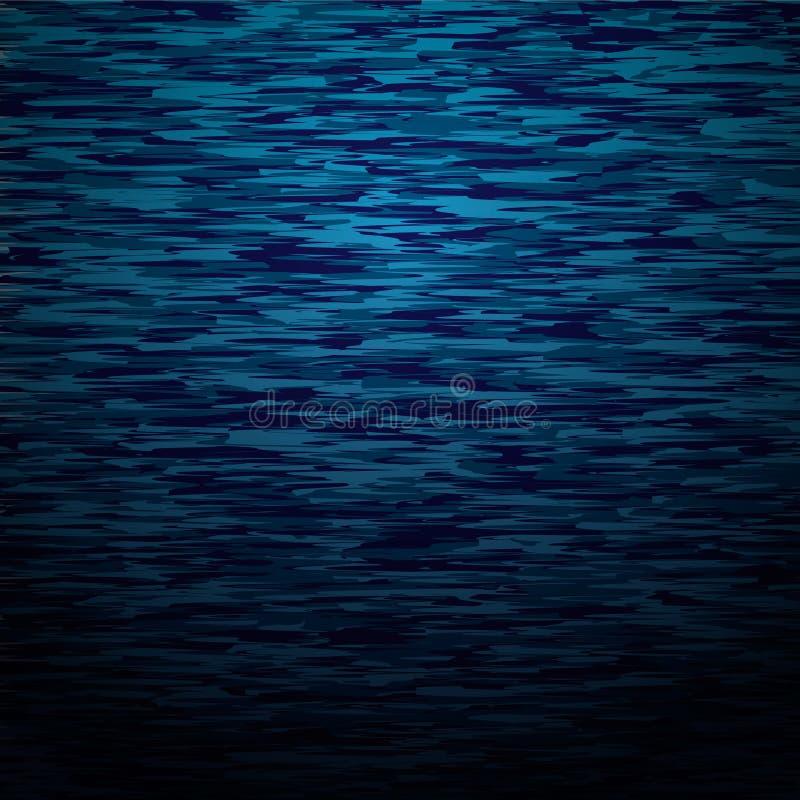 Ondulazioni su acqua illustrazione di stock