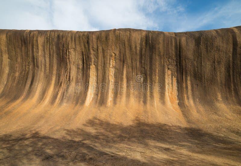 Ondulez la roche dans l'Australie occidentale photographie stock