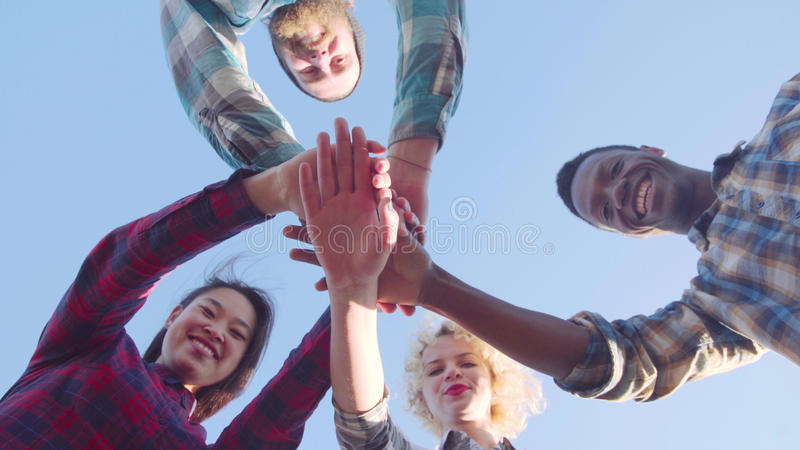 One for all and all for one. royalty free stock image